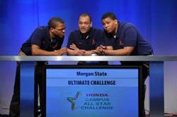 Morgan State University, back to back national champions, look to three-peat at the 2014 25th anniversary Honda Campus All-Star Challenge (HCASC) to be held April 12-16 on the campus of American Honda Motor Co., Inc., in Torrance, California.